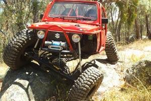 Red Rocket Racing vehicle photo