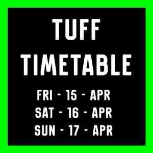 2016 Tuff Timetable