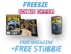 Free Magazine & Stubbie Offer